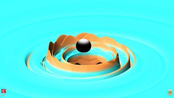 Erneut konnten jetzt Gravitationswellen nachgewiesen werden – und damit die Relativitätstheorie von Einstein zum zweiten Mal bestätigt werden.