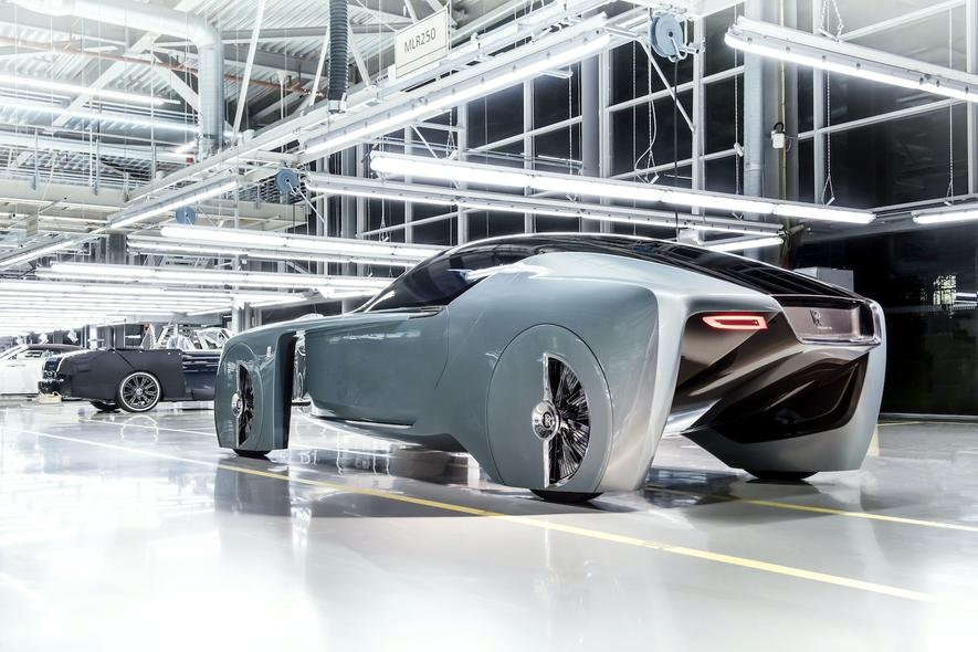 So stellen sich Mini und Rolls-Royce die Zukunft auf vier Rädern vor