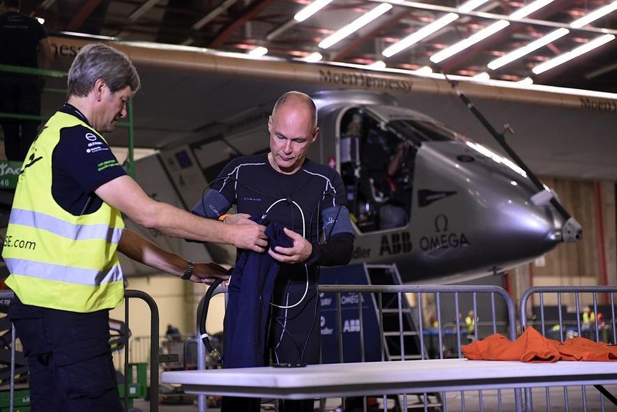 Solar Impulse: 6000 km mit Sonnenkraft von New York nach Sevilla