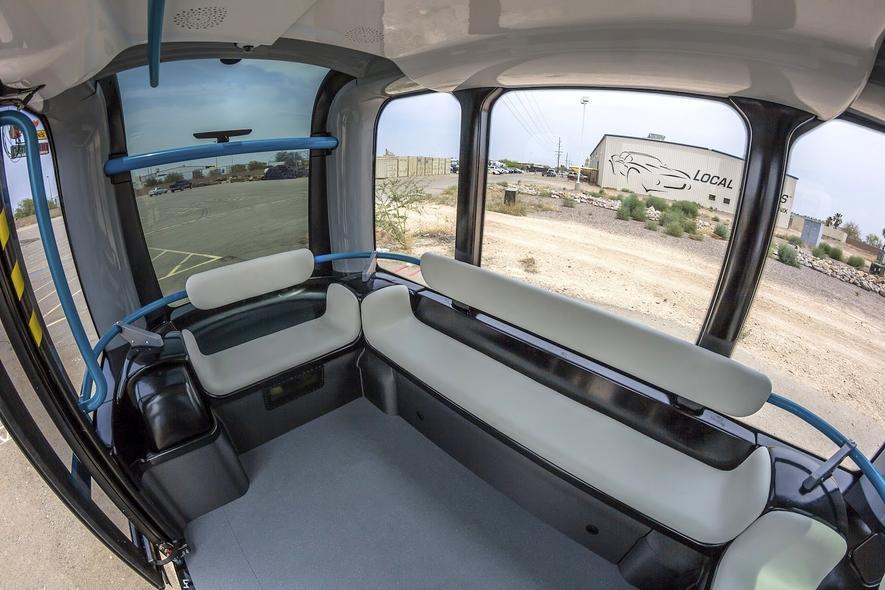 Der Kleinbus Olli kommt aus dem 3D-Drucker