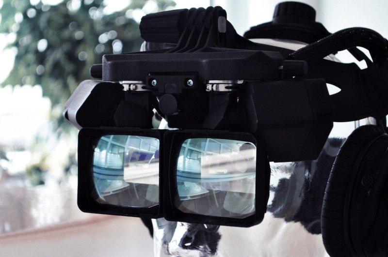 Bildausschnitte selbst festlegen und virtuelle Inhalte gezielt einblenden kann der Nutzer der neuen VR-Brille von Cadcon.