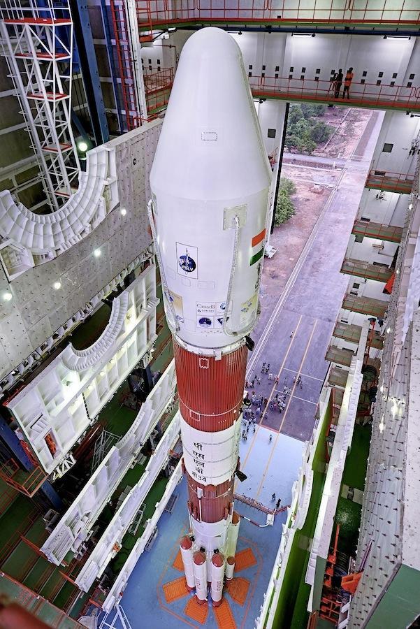 Massenstart mit 20 Satelliten – Indien feiert Rekord