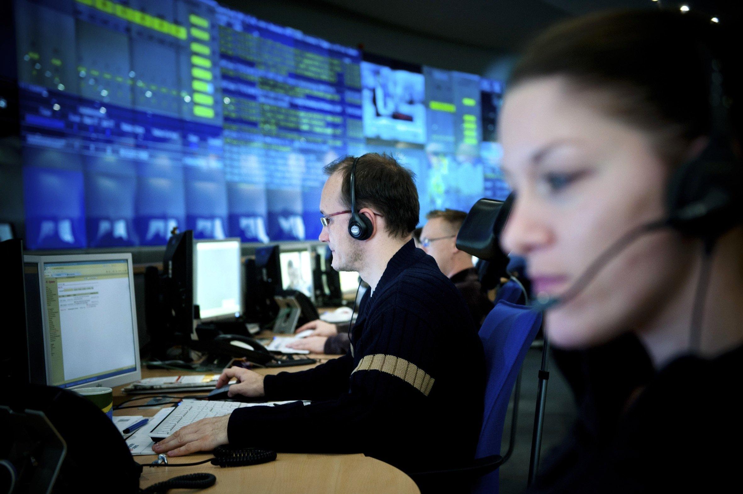 Rechenzentrum der Telekom: Der Konzern betreibt dieInfrastruktur für die Volksverschlüsselung in einem Hochsicherheitsrechenzentrum.