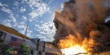 Nasa hat stärkstes Raketentriebwerk der Welt getestet