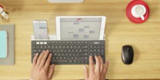 Diese Tastatur meistert Smartphone, Tablet und PC auf einmal