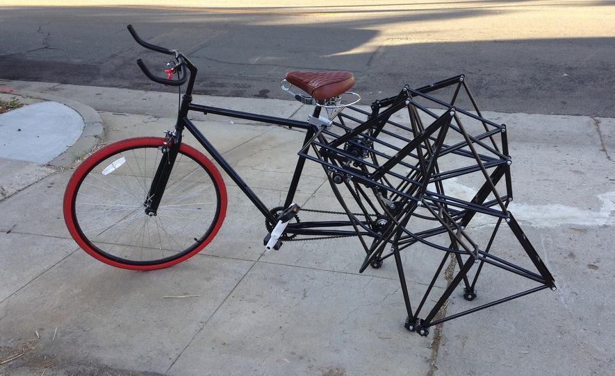 Das Strandbeest-Bike: Ist das Kunst oder kann man damit weg?