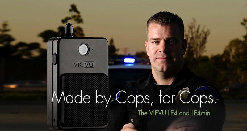 Extrem robust, wasserfest und einfach zu handhaben beschreibt Vievu die von Polizisten für Polizisten entwickelte Bodycam.