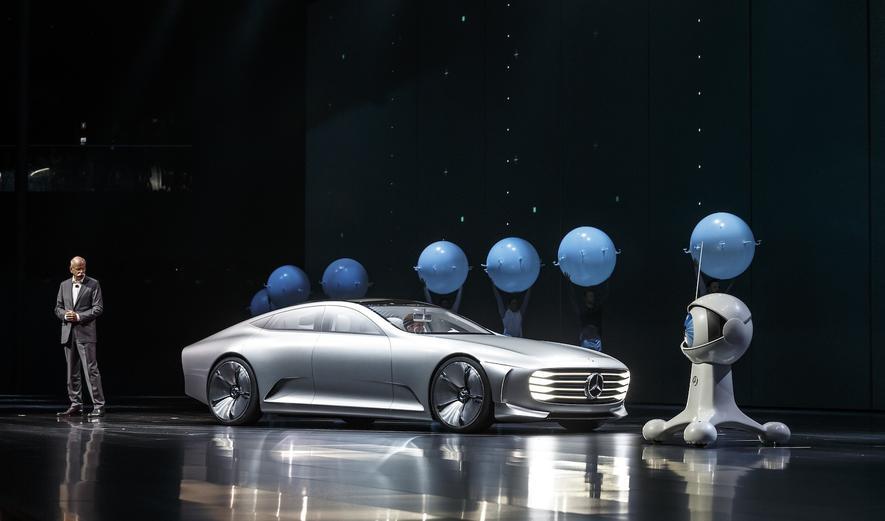 Noch ein Tesla-Konkurrent: Mercedes plant große Elektrolimousine