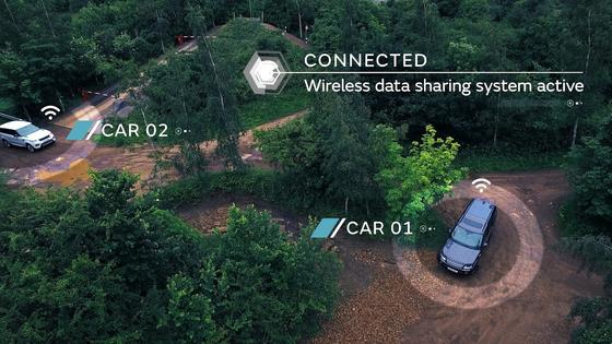 Autonomes Fahren im Gelände: Diese Technik hat jetzt Land Rover vorgestellt. Der Clou: Die beiden Prototypen waren vernetzt und haben Geländeinformationen ausgetauscht.