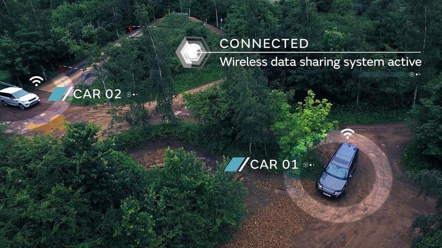 Macht das Spaß? Land Rover fährt autonom durchs Gelände