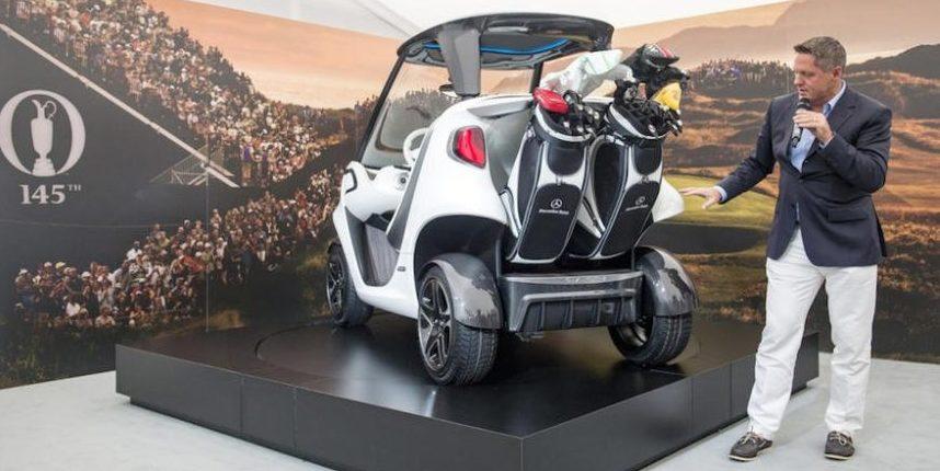 Daimler entwickelt Luxusauto für den Golfplatz