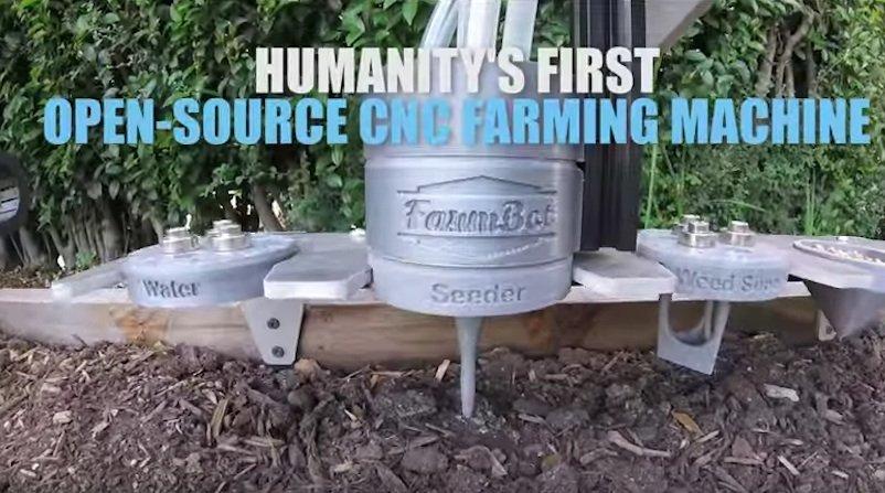 """Für seine Erfinder ist der FarmBot Genesis ganz unbescheiden der """"erste Open Source Farm-Roboter der Menschheit""""."""
