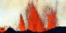 Europas größter Vulkanausbruch unter Europas größtem Gletscher