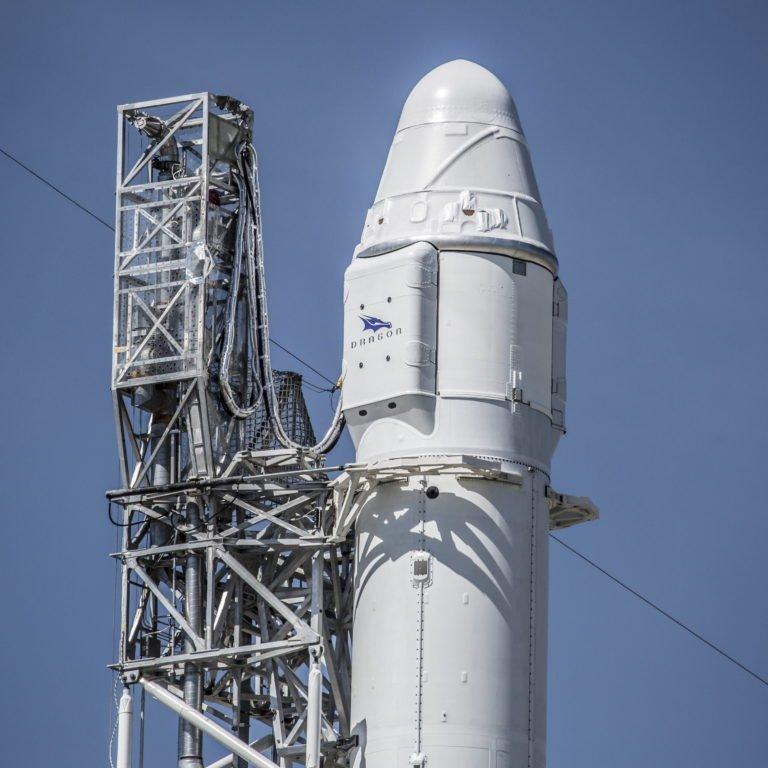 Lässt sich wiederverwerten: die Falcon 9 von SpaceX.Foto: Spacex