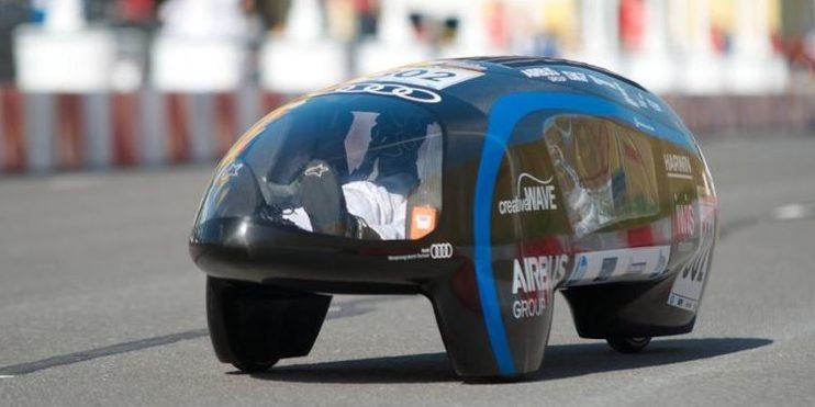 Elektroauto eLi14: Mit der Energie von 4 l Super einmal um die Welt