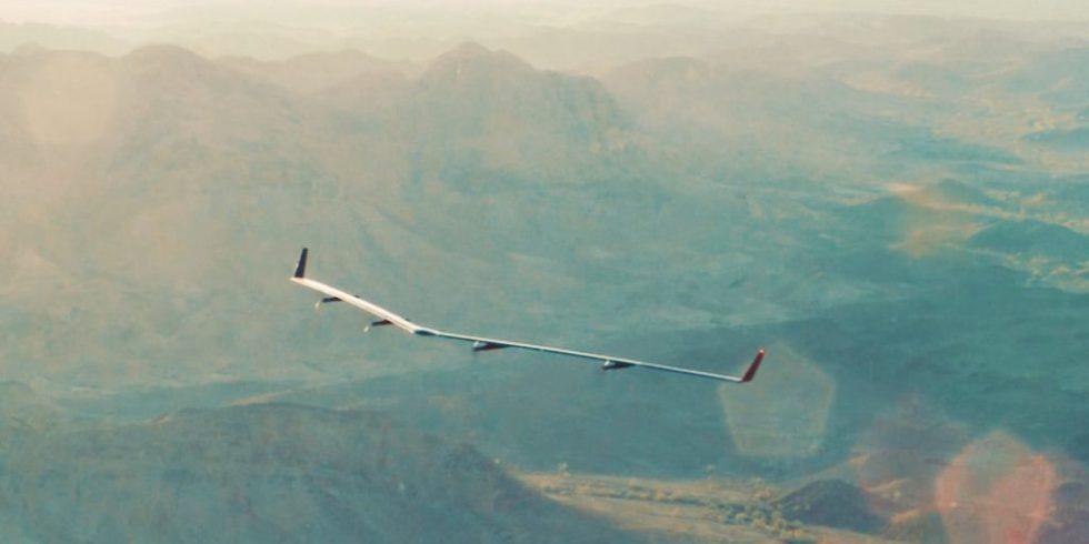 Solardrohne Aquila über Arizona