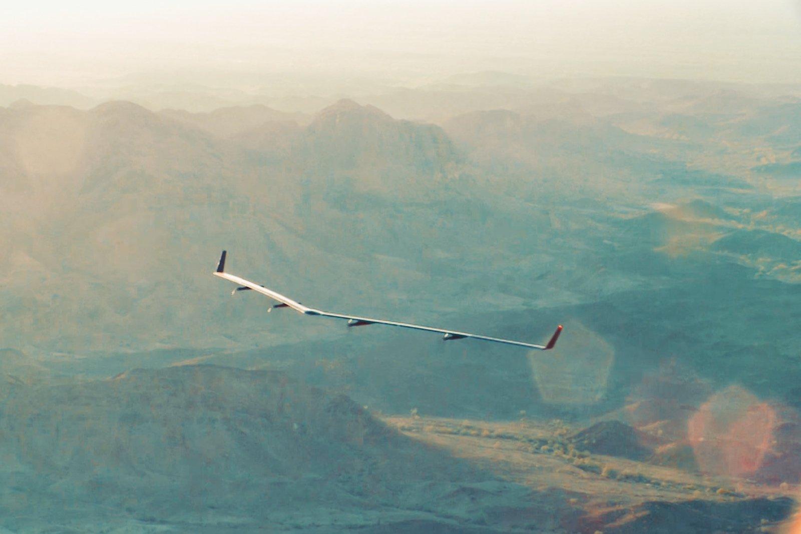 Aquila erreichte bei ihrem Testflug eine maximale Flughöhe von 650 m.