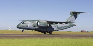 Mit diesem Militärtransporter will brasilianische Embraer in Europa landen