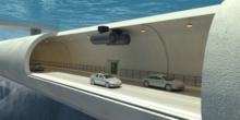 Autobahn soll im Wasser schweben