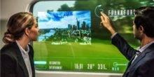 Vorbild Hyperloop: Bahn will Zugfenster zum Display machen