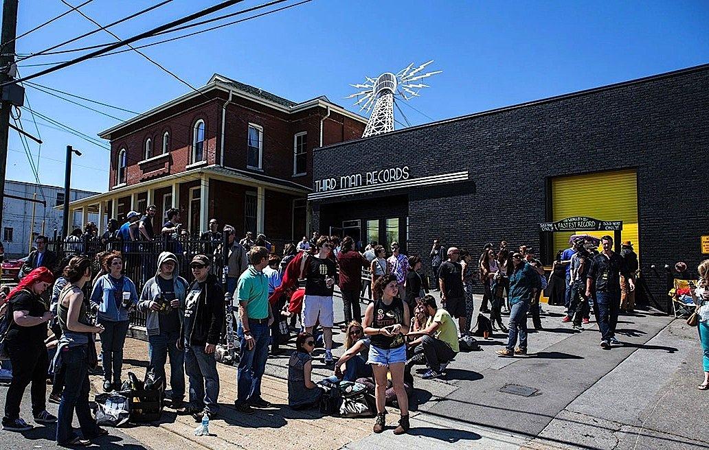 Seit sieben Jahren arbeitet das Musiklabel Third Man Records von Jack Whitein Nashville in Tennessee