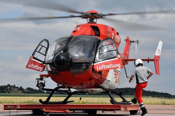Gerade beim Transport von Verletzten ist ein ruhiger Flug ohne heftige Vibrationen Gold wert.