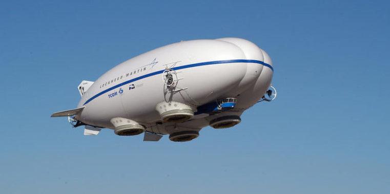 LMH-1 besteht aus drei mit Helium gefüllten Zellen, die einen tragflächenförmigen Querschnitt haben und zusätzlichen Auftrieb erzeugen. Dadurch verbraucht der Zeppelinnur ein Fünftel so viel Sprit wie ein Flugzeug.