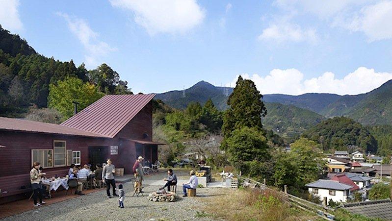 Treffpunkt für dieEinwohner von Kamikatsu: das Kamikatz Public House.