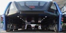 TEB: Er fährt schon, der tunnelgleiche Riesenbus