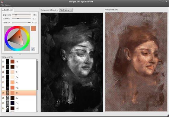 Porträt von Emma Dobigny, Lieblingsmodell von Edgar Degas: Australische Forscher konnten es mit Röntgenfluoreszenzanalyseunter einem anderen Frauenporträt sichtbar machen.