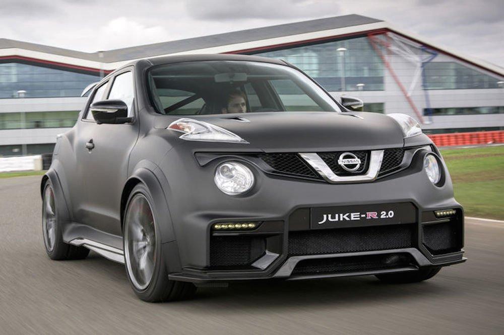 2015 brachte Nissan ein Up-Date des Juke-R, den Juke-R 2.0. Dieser Mini-SUV hat600 PS unter der Haube.