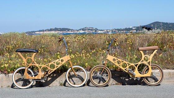 fahrrad aus sperrholz hoopy beschert ein gutes. Black Bedroom Furniture Sets. Home Design Ideas