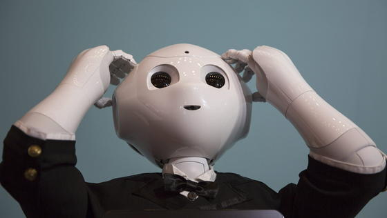 Hat seine Seele verkauft: Der humanoide Roboter Pepper von SoftBank dient als technologische Basis für die Pläne von Honda, gefühlvolle Autos zu bauen.