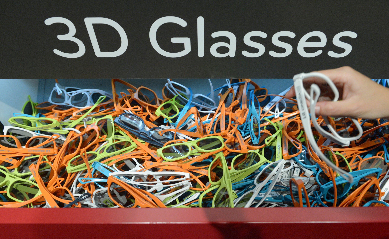 3D-Brillen werden vielleicht bald schon im Kino nicht mehr benötigt.