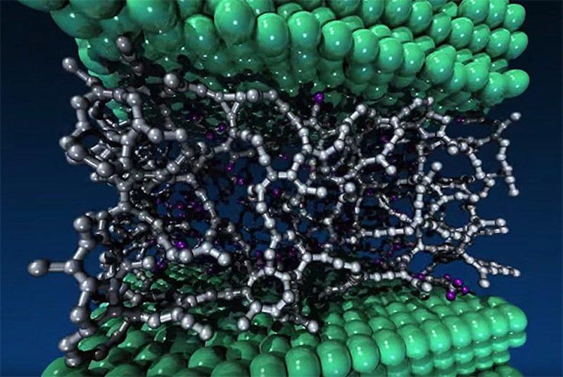 Der diamantähnliche Kohlenstoff entsteht bei einer chemischen Reaktion mit dem Öl.