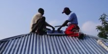 Solarbetriebene Moskito-Falle ist wirksame Waffe gegen Malaria