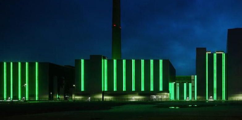 Lausward: Ein Kraftwerk kann auch richtig gut aussehen