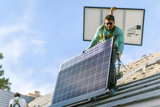Hightech dachziegel sollen solarmodule ersetzen Markisen auf dach montage