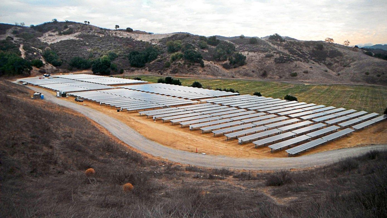 Solarfeld von SolarCity: Bis zum Jahresende will Elon Musk das Unternehmen SolarCity komplett übernehmen.