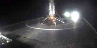 Raketen-Recycling: Falcon 9 erneut sicher auf Meeresplattform gelandet