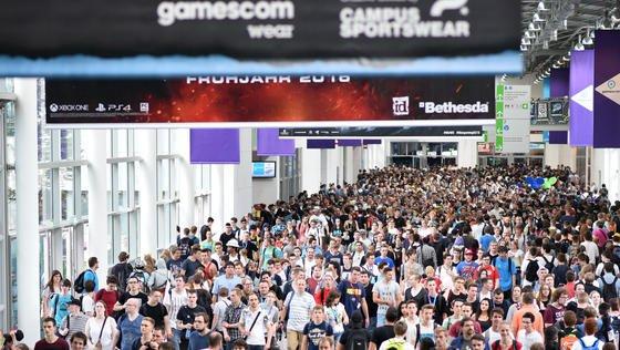 500.000 Besucher werden in diesem Jahr auf der Gamescom erwartet.