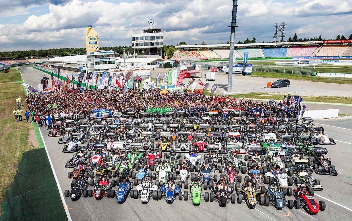 113 Teams aus 25 Ländern waren bei der Formula Student Germany auf dem Hockenheimring am Start.