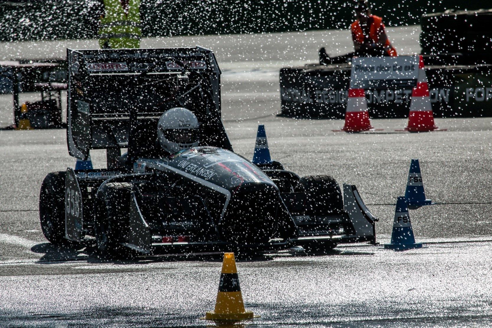 Die Teams aus der gesamten Welt lieferten sich spannende Rennen.