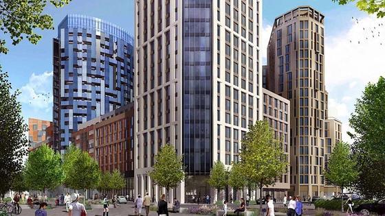 Das Apex House in London wird das höchste Haus in Europa, das aus vorgefertigten Module gefertigt wird.