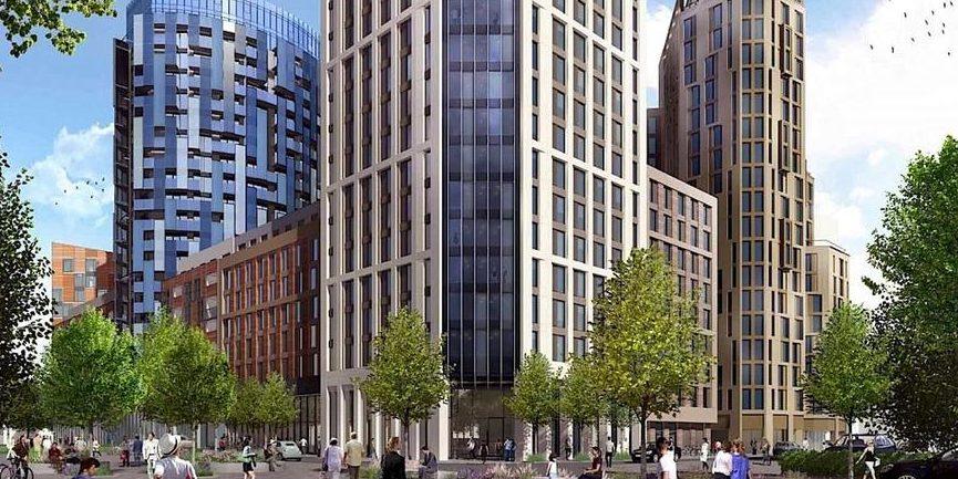 Höchstes Hochhaus Europas aus Modulen entsteht in London