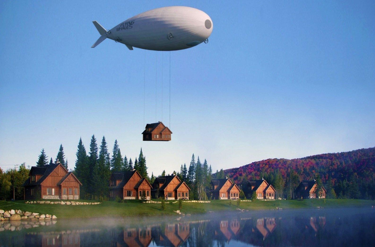 Der fliegende Wal wird laut Skeleton Technologies übergroße Ladungen mit bis zu 60 t entweder in einem 75 m langen Laderaum oder unterhalb des Rumpfes frei hängend transportieren können.