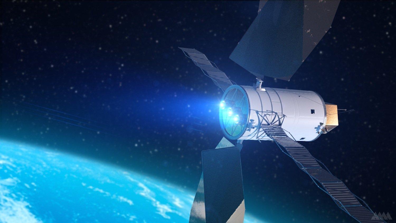 Der Antrieb Solar Electric Propulsion schießt die Sonde mit einem Ionenstrahl vorwärts.