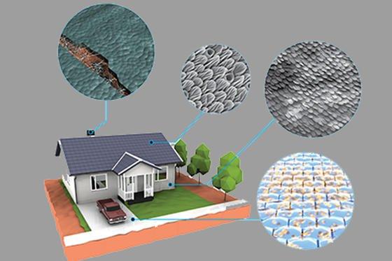Lebendige Materialien wollen Forscher der US-Behörde Darpa beim Häuser- oder Straßenbau einsetzen.