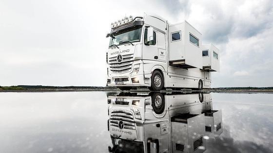Der Magellano Edition 1 ist eine rollende Luxuswohnung. Basispreis: 680.000 Euro.