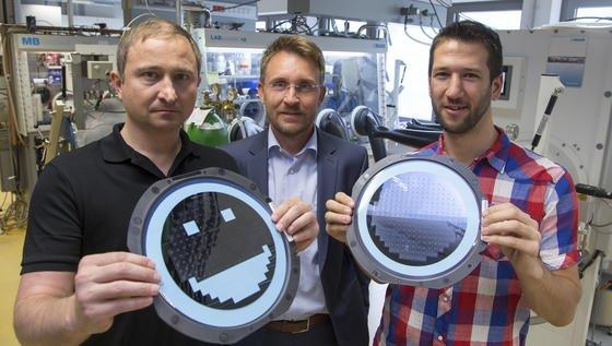 Am CD-Labor für Lithium-Batterien der TU Graz gelang es dem Team rund um Martin Wilkening, einkristallines Halbleitersilizium als aktive Speicherelektrode in Lithium-Batterien einzusetzen.